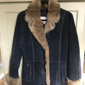 Wilson's Leather Maxima Women's Suede Coat